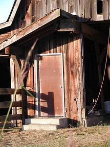 Bollenbaugh Hill barn door