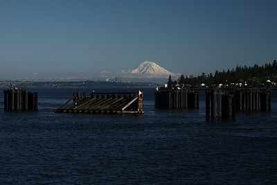 Mt. Rainier from Kingston