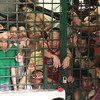 Prisoners at Cordova detention cell