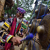 Obu Manuvu tribal leader plays kulintang