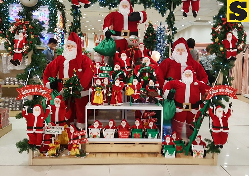 Santa Claus Christmas decors