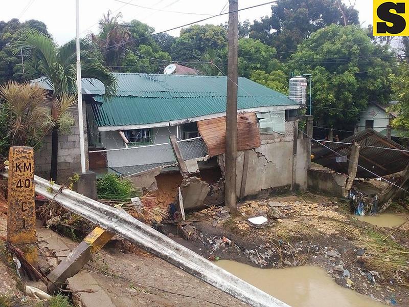 House in Carmen, Cebu that was damaged by flood