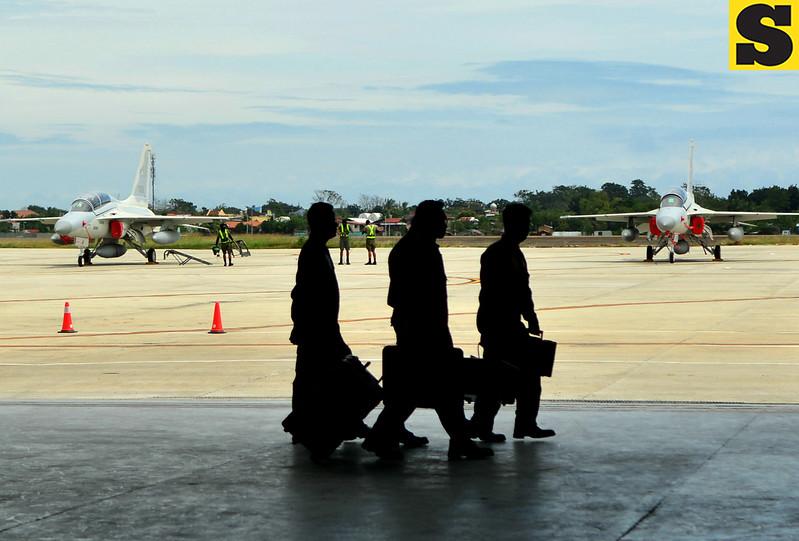 Cebu fighter jets