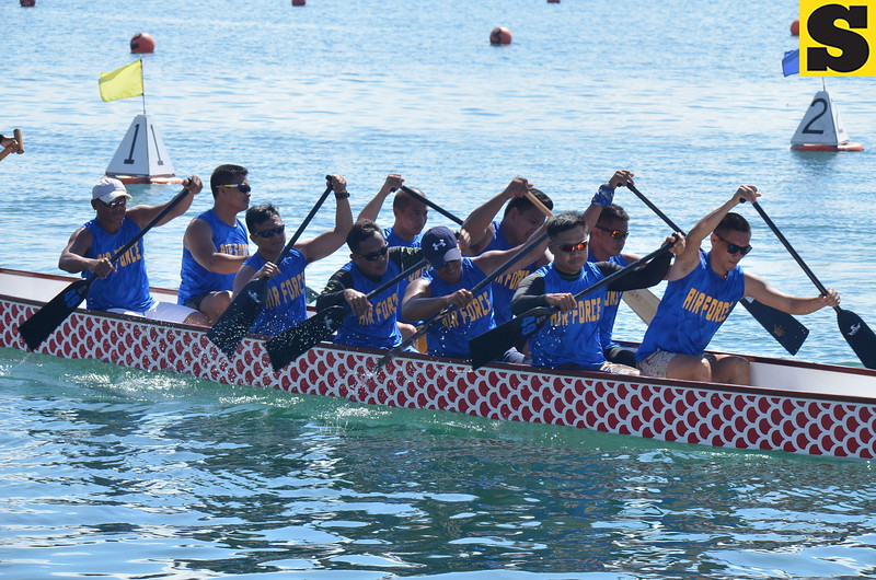 Philippine Air Force dragonboat team