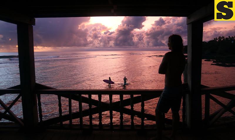 Sunrise in Siargao Island, Surigao
