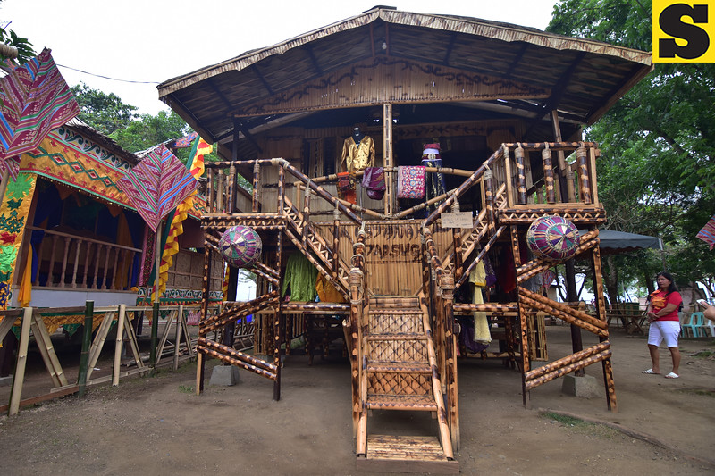 Tausug tribal house