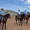 Benguet policemen on horseback
