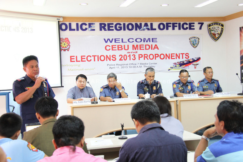 Police-Media forum on Election 2013