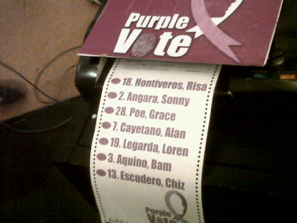 MANILA. Pro-RH groups support seven of Team PNoy's 12 senatorial bets on Tuesday. (Virgil Lopez/Sunnex)