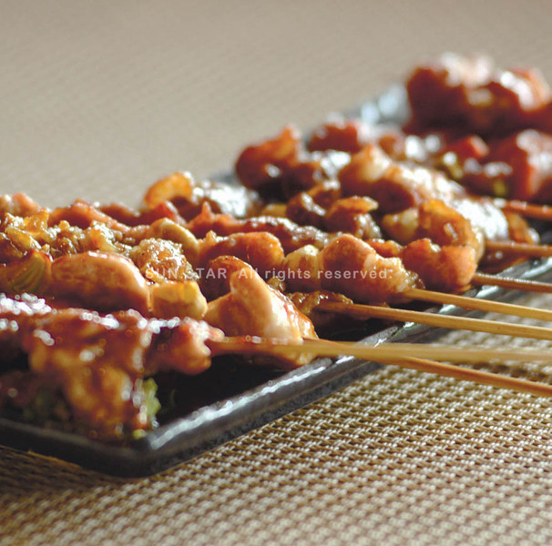 Dozo Izakaya's authentic Japanese street food. (Photo by Ruel Rosello of Sun.Star Cebu)