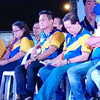 BACOLOD. Magbinuligay Kita sa Kauswagan party, led by its mayoralty bet Monico Puntevella (4th from right), launches its opening salvo at Villamonte, Bacolod City on Monday. (Carla Cañet)