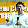 ON GOING ONLINE. Lawyer Ethelbert Ouano, Cebu Bloggers Society legal consultant, discusses the benefits that candidates can draw from the proper use of online social media. Ouano gave his talk during the Cebu City Press Council meeting at the Marcelo Fernan Press Center  on Tuesday.  (Arni Aclao)