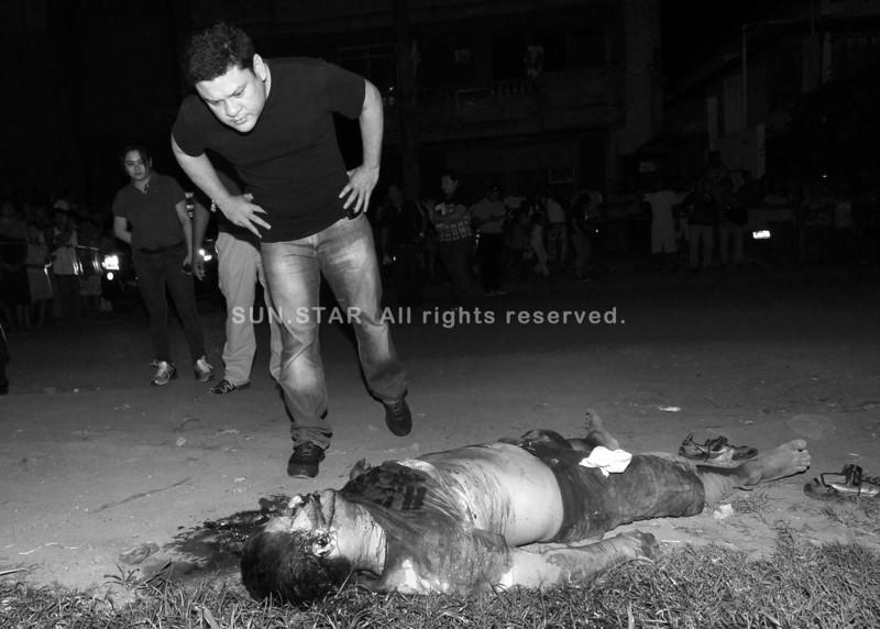 Nagbuy-od nga lawas sa drug pusher sa Davao