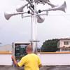 Rainfall warning system