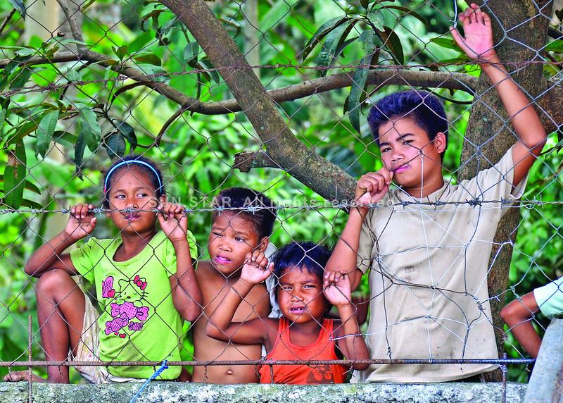 Lumads in Talaingod, Davao del Norte