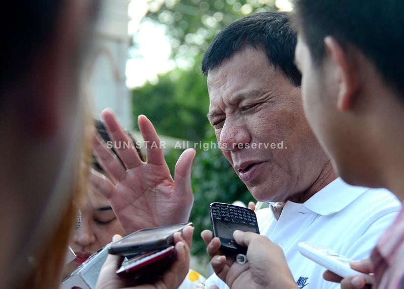 Davao City Mayor Rodrigo Duterte's benefit of the doubt
