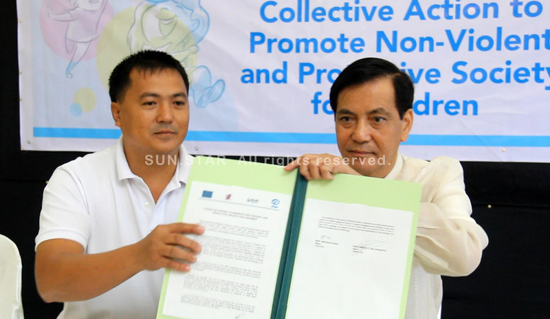 Cebu City Mayor Rama supports child protection project