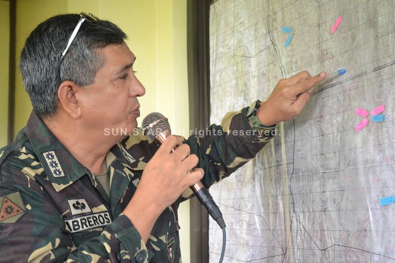Mapping the NPA's encampments