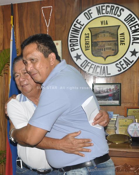 Negros Occidental, Oriental governors Marañon, Degamo