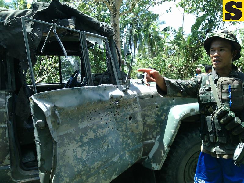 Basey, Samar NPA ambush