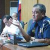 ZAMBOANGA. Task Group Archie head Chief Superintendent Mario Yanga gives an update on Monday concerning the killing of Universidad de Zamboanga Chief Executive Officer Hadji Arturo Ammar Eustaquio III. (Bong Garcia)