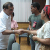 ZAMBOANGA. Mayor Celso Lobregat release on Wednesday cash aid to fire victims in Zamboanga City. (Bong Garcia)