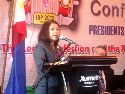 MANILA. Chief Justice Maria Lourdes Sereno says she wanted a fair and effective judiciary under her 18-year term. (Virgil Lopez/Sunnex)