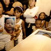 SHOCKED. Jovelyn Abucejo shows a picture of her son, two-year-old Jeffrey Abucejo, who was murdered by their neighbor who was reportedly a drug user. The incident happened in Biasong, Talisay City. The suspect is now detained at the Talisay Police Station.  (Photo by Alex Badayos of Sun.Star Cebu)