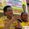 """PAMPANGA. Deputy Speaker and Liberal Party Spokesman Lorenzo """"Erin"""" Tanada, author of the Freedom of Information Bill, speaks before various nongovernment organizations and members of the civic sector during Thursday's advocacy forum. (Chris Navarro)"""