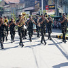 "SOLDIERS from the 4th Infantry Division lead a procession along Cagayan de Oro's main thoroughfares dubbed ""Diana"" in time for the city's fiesta celebration on Tuesday. (Joey P. Nacalaban)"