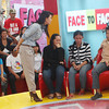CAGAYAN DE ORO. Host Gellie de Belen in TV5's Face to Face held in Cagayan de Oro. (Joey P. Nacalaban)