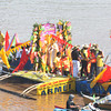 FLUVIAL PROCESSION. More than a hundred residents participate in a fluvial procession along the Cagayan River in celebration of the feast of St. Augustine on Tuesday. At least 50 decorated pump boats joined in the annual event. (Joey P. Nacalaban)