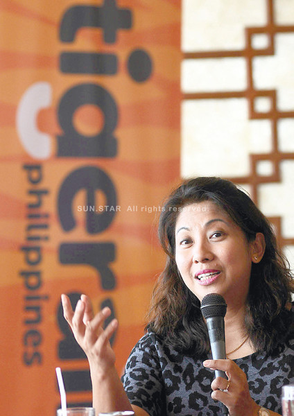 Tiger Air Philippines president and CEO Olive Ramos