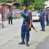 Police checkpoint at Lapu-lapu, Agdao, Davao