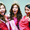 CEBU. In a press conference in Cebu, this year's Mutya ng Pilipinas winners show they're not too vain about their looks to try a funny pose. They are (from left) first runner-up Maureen Montagne, Mutya ng Pilipinas Tourism International Angeli Dione Gomez from Cebu and Mutya ng Pilipinas Overseas Asdis Karlsdottir. (Alex Badayos photo/Sun.Star Cebu)