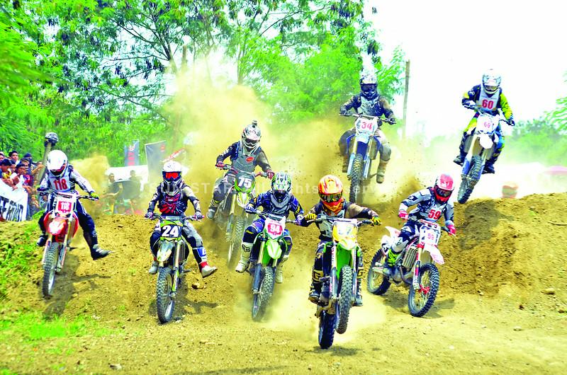 Motocross riders