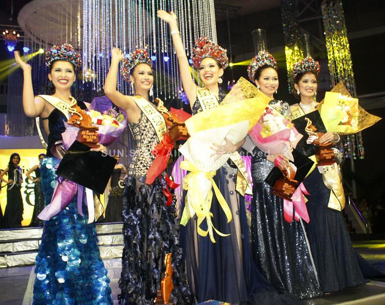 Miss Cagayan de Oro 2014 top 5 candidates