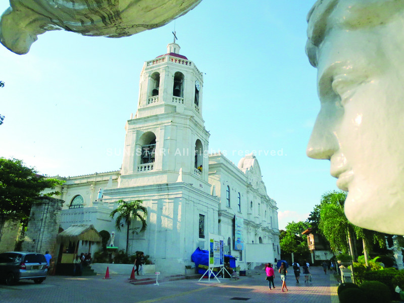 MEMORY SERVES. The Cebu Metropolitan Cathedral will be repaired along with the  Museo Sugbo . (Sun.Star photo/Allan Cuizon)