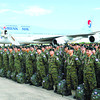 Koreans on a humanitarian visit in Philippines