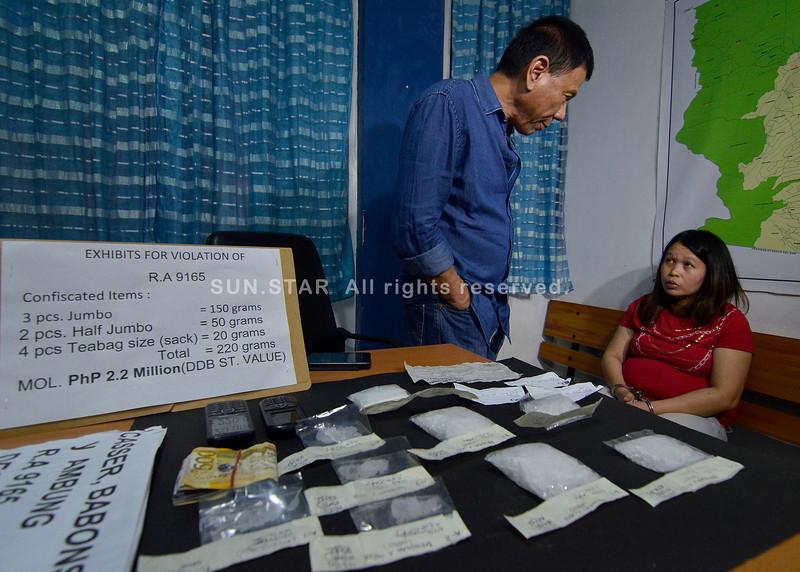 Drug dealer arrested in Davao City