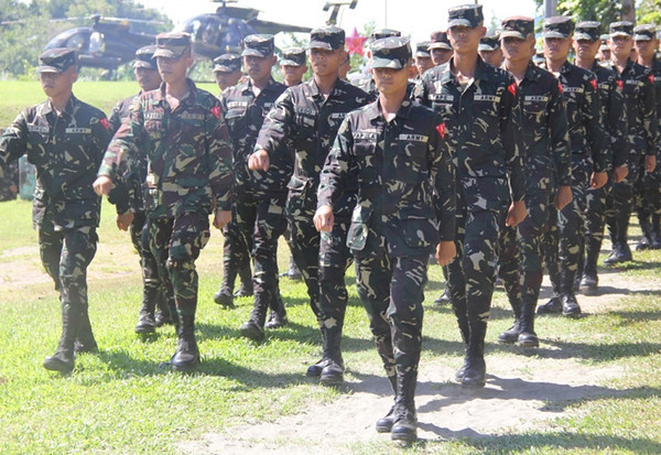 Soldiers' graduation