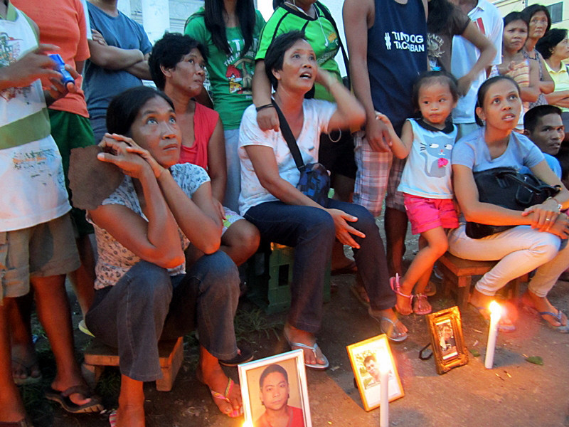 40th day of mourning for typhoon victims
