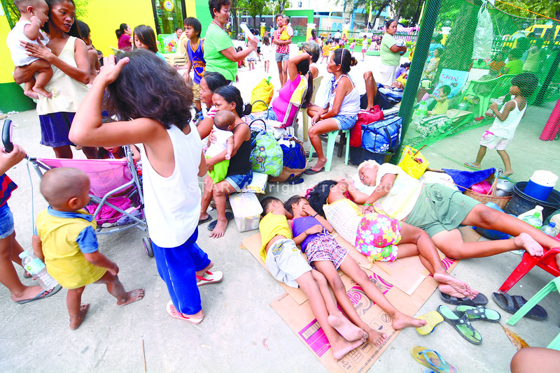Typhoon Ruby: Power nap for a stormy weekend