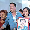 Deaf girl with Davao City Mayor Rodrigo Duterte