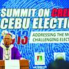 PRAYING AND WORKING FOR CREDIBLE ELECTIONS. Cebu Archbishop Jose Palma addresses participants of the Summit on Credible Cebu Elections 2013. (Sun.Star Photo/Alex Badayos)