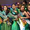 DAVAO. Lima ka mga Mutya ng Dabaw finalists nagpahulagway human napili sila atol sa pre-pageant night nga gihimo didto sa Abreeza Mall, Miyerkules. Ang coronation night gitakdang himuon karong Sabado didto sa Davao City Recreation Center. (King Rodriguez)