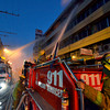 DAVAO. The fire at Dimdi Appliance Center along San Pedro Street was one of three fire incidents in the city on the eve of the Fire Prevention Month. (King Rodriguez photo)