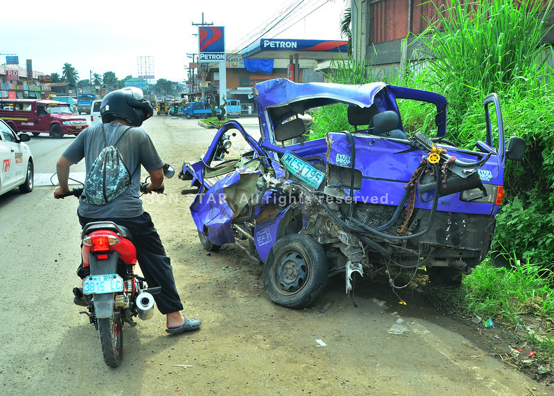 Accident in Kilometro 7, San Isidro, Buhangin, Davao City