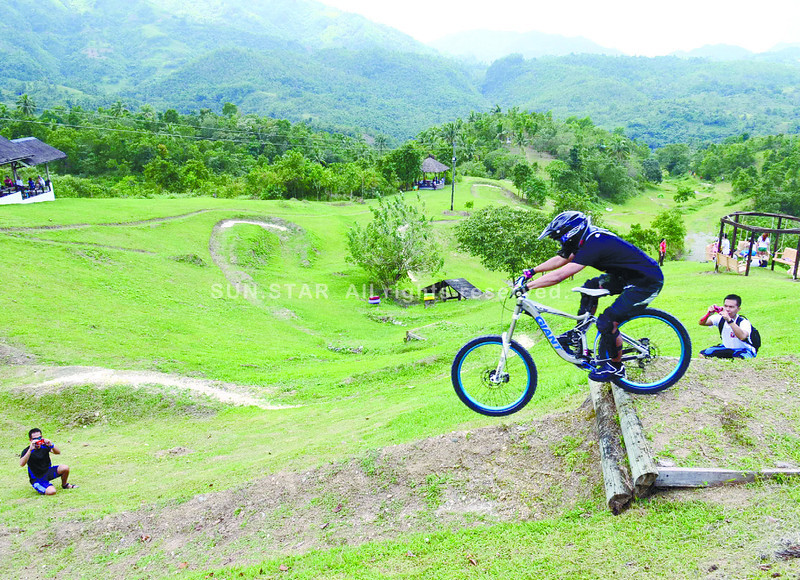 "Canso X is named after Cansomoroy, the barangay where it is located, and ""extreme."" The eco adventure park is located in a 12-hectare land that is part of the more than 200-hectare property of the company's affiliate Cebu Industrial Park Developers, Inc. (Photo by Ruel Rosello of Sun.Star Cebu)"