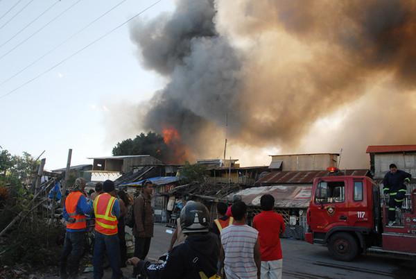 Fire hits Bacolod City